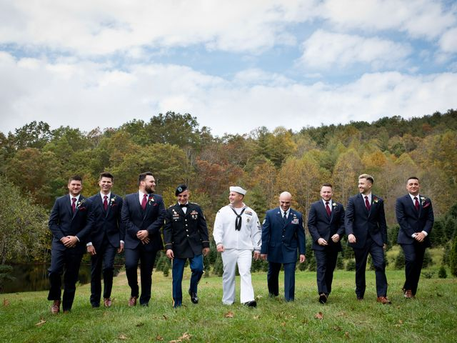 Alex and Olivia's Wedding in Glenville, North Carolina 33