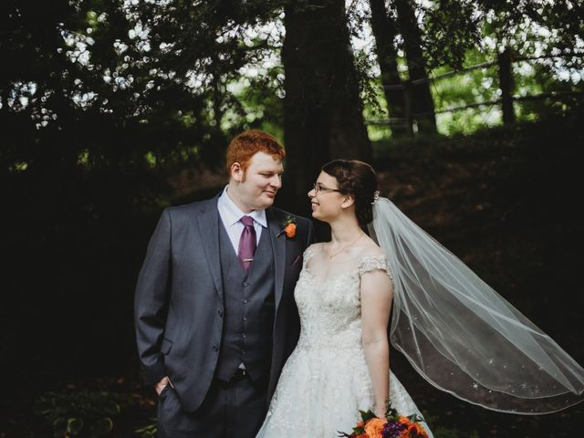 The wedding of Emily and Bryan