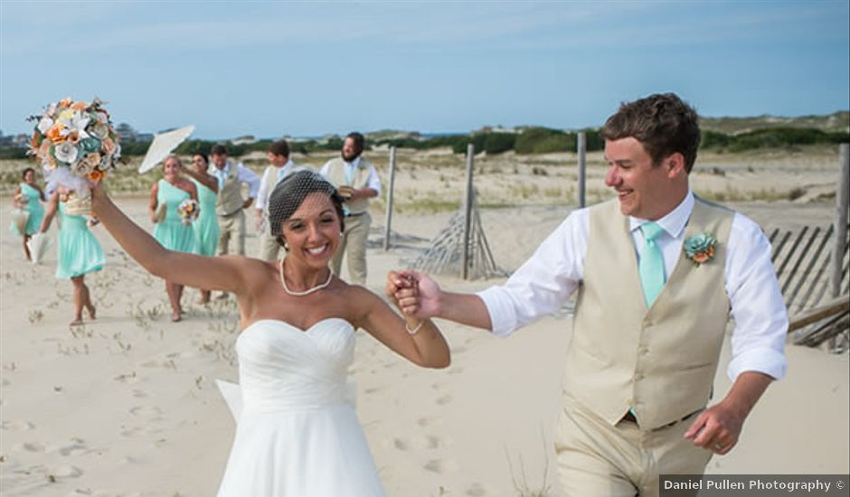 Cassie and Hank's wedding in North Carolina