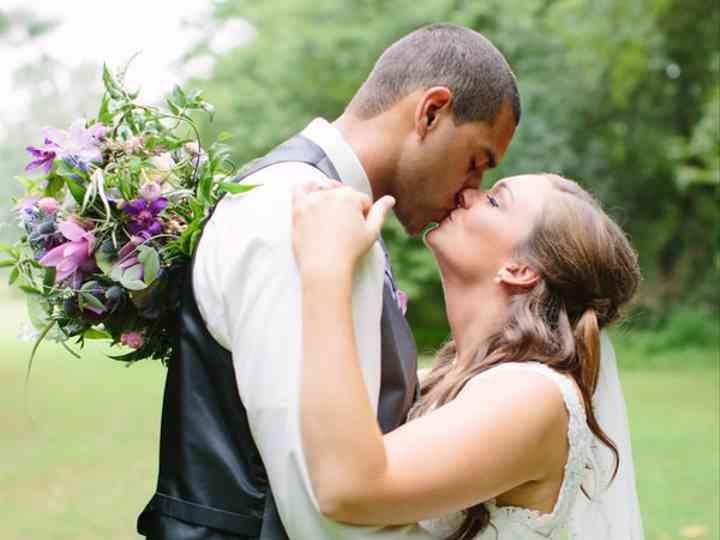 The wedding of Matt and Devon