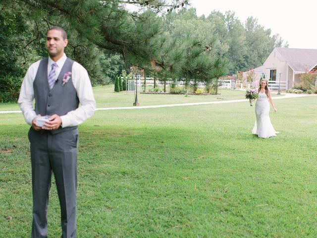 Devon and Matt's Wedding in Gurley, Alabama 7