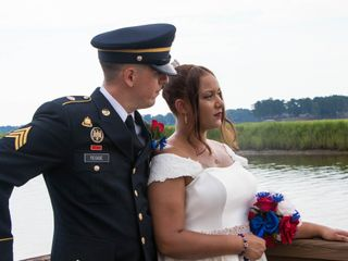 The wedding of Catherine and Christopher