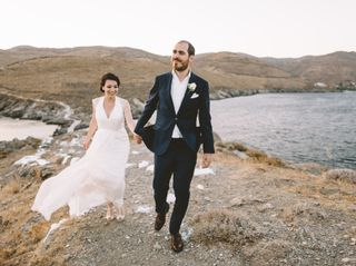 The wedding of Vagelis and Sophie