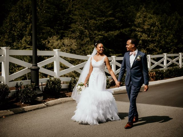 The wedding of Sydnee and Avery