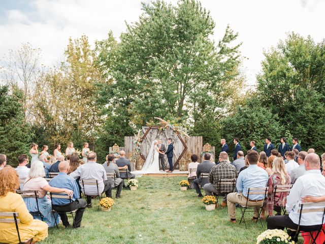 AJ D and Jackie's Wedding in Mount Sterling, Ohio 42