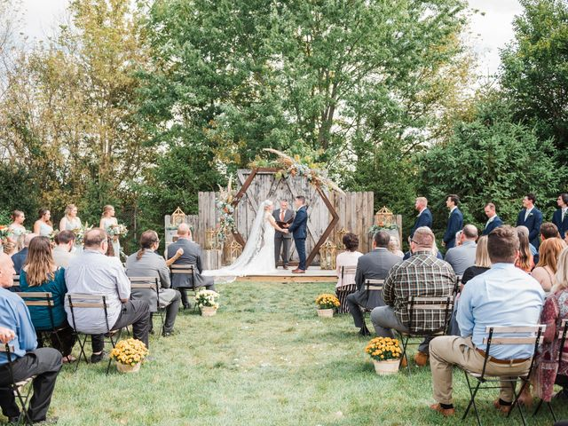 AJ D and Jackie's Wedding in Mount Sterling, Ohio 43