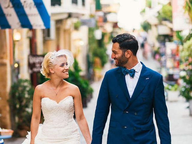The wedding of Salar and Marta