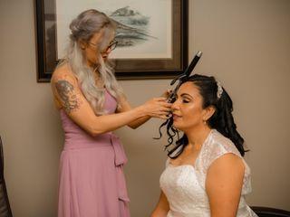 The wedding of Kym and Eva 3