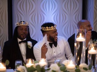 The wedding of Christopher Brandon and Terell Carter 1