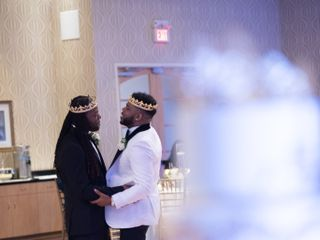 The wedding of Christopher Brandon and Terell Carter 2