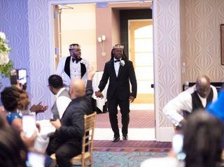 The wedding of Christopher Brandon and Terell Carter 3