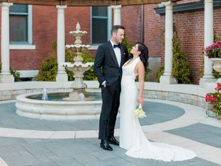 The wedding of Mary and Marc