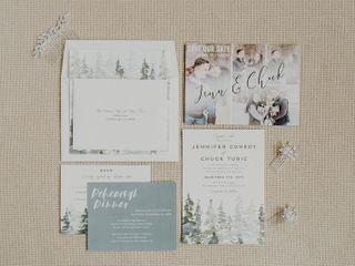 The wedding of Jennifer Conroy and Chuck Turic 2