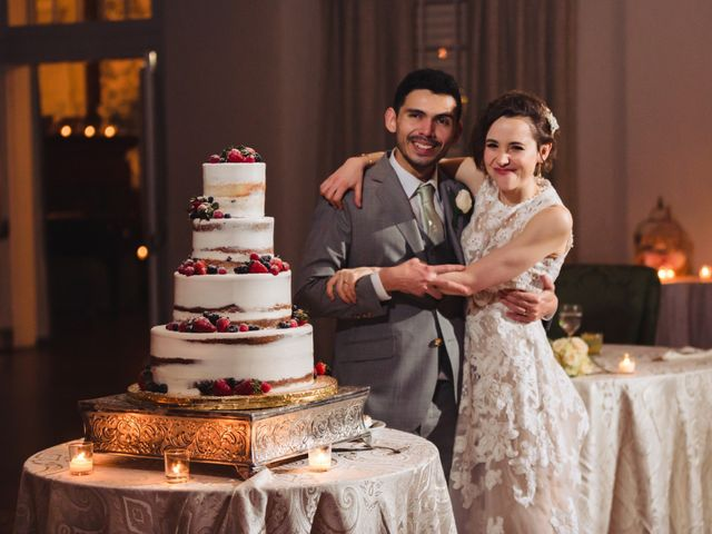 The wedding of Deirdre and Steven