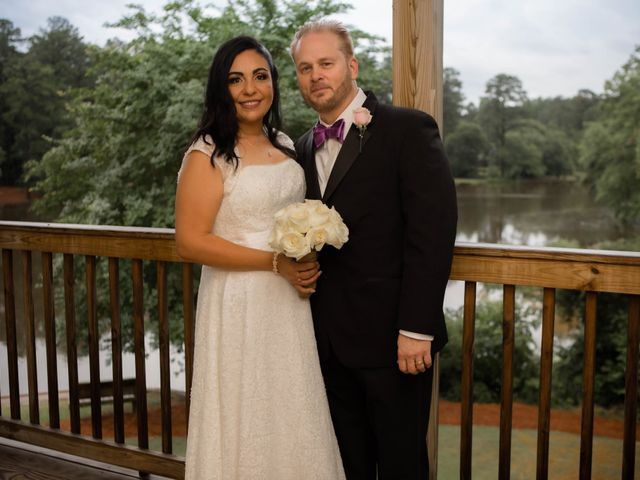 The wedding of Kym and Eva
