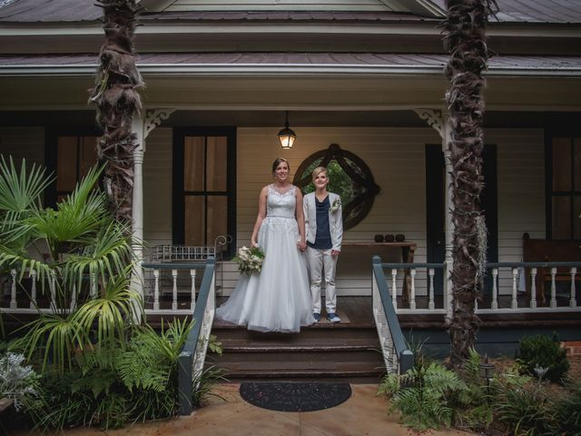 The wedding of Emily and Nicole