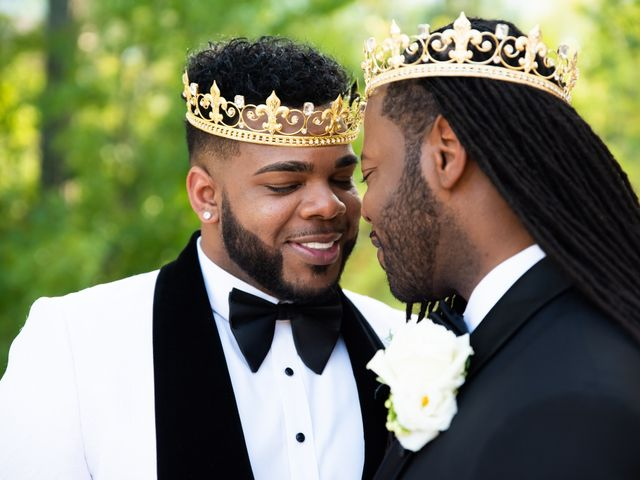 The wedding of Christopher Brandon and Terell Carter