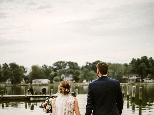 Clint and Cara's Wedding in Stevensville, Maryland 4