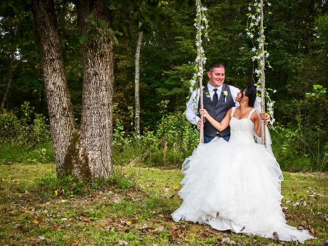 The wedding of Lena  and Robby