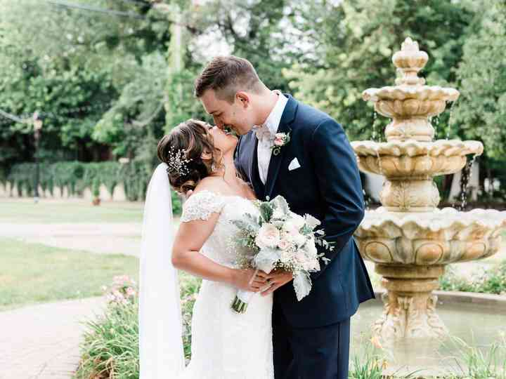 The wedding of Kimberly and Zach
