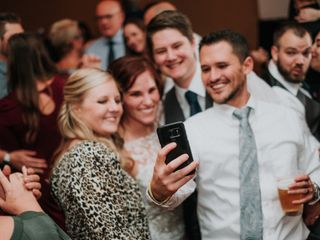 The wedding of Emily and Cody
