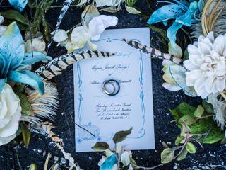 The wedding of Megan and Allen 1