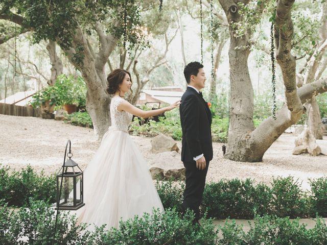 Charles and Michelle's Wedding in Malibu, California 16