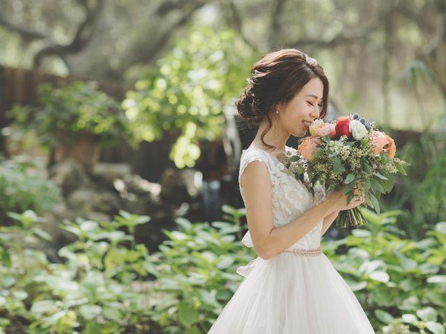 Charles and Michelle's Wedding in Malibu, California 20