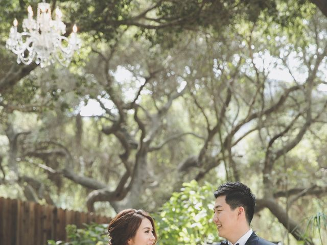 Charles and Michelle's Wedding in Malibu, California 24