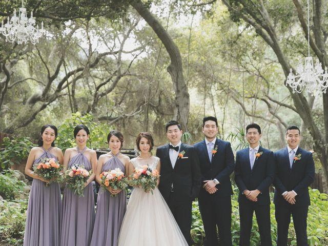 Charles and Michelle's Wedding in Malibu, California 27
