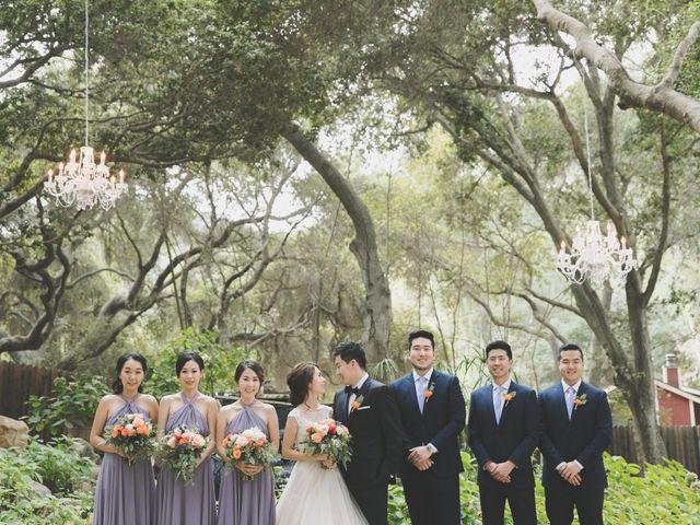 Charles and Michelle's Wedding in Malibu, California 28