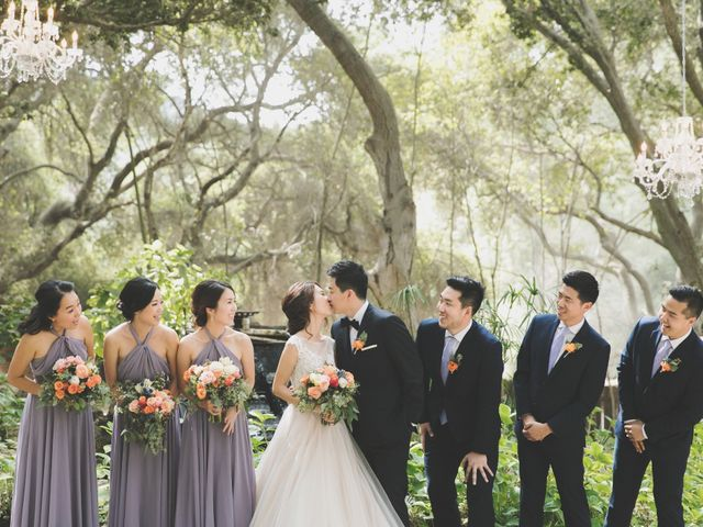 Charles and Michelle's Wedding in Malibu, California 29