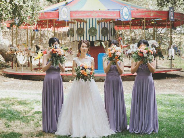 Charles and Michelle's Wedding in Malibu, California 37
