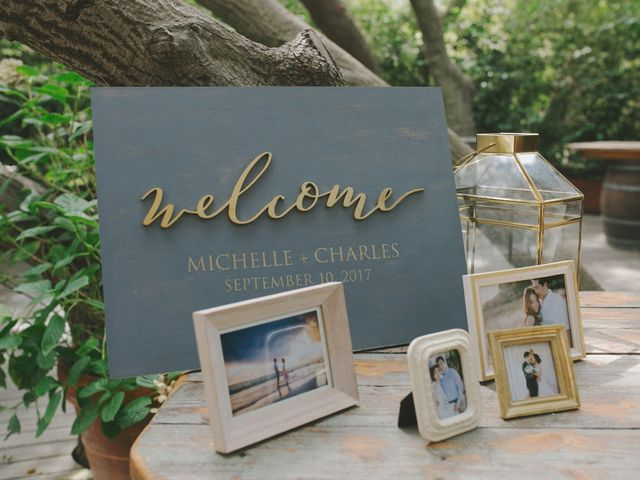 Charles and Michelle's Wedding in Malibu, California 39