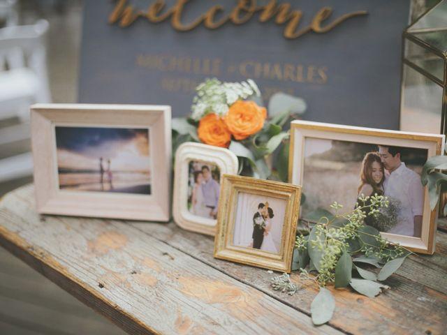 Charles and Michelle's Wedding in Malibu, California 40
