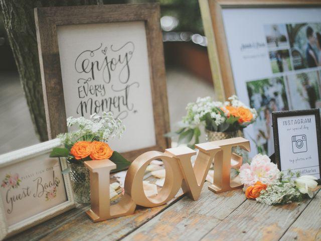 Charles and Michelle's Wedding in Malibu, California 42
