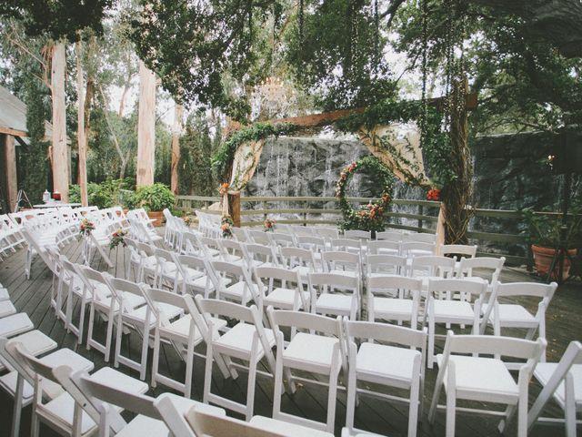 Charles and Michelle's Wedding in Malibu, California 45