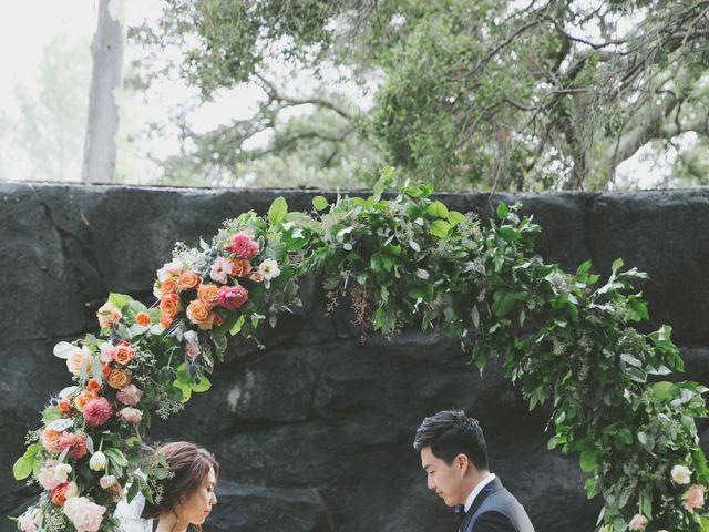 Charles and Michelle's Wedding in Malibu, California 54