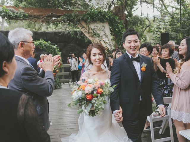 Charles and Michelle's Wedding in Malibu, California 57