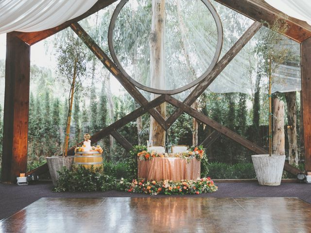 Charles and Michelle's Wedding in Malibu, California 59