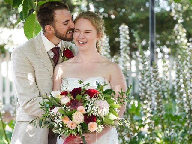 The wedding of Erin and Carter