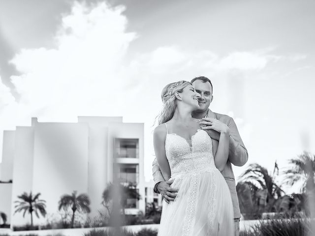 Cory and Meghan's Wedding in Cancun, Mexico 21