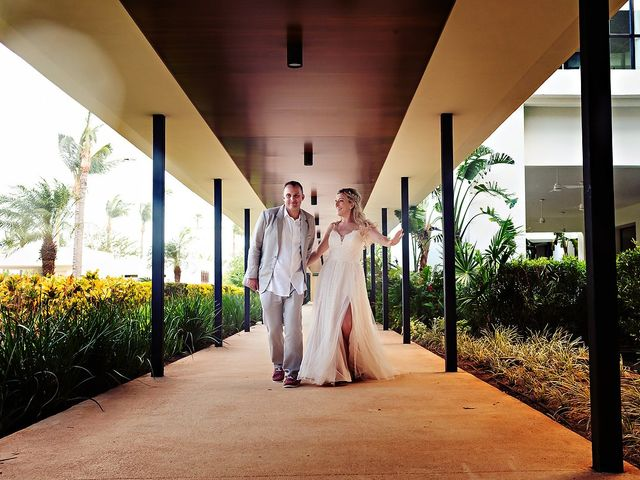 Cory and Meghan's Wedding in Cancun, Mexico 23