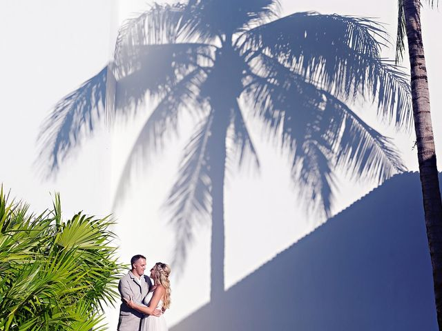 Cory and Meghan's Wedding in Cancun, Mexico 26