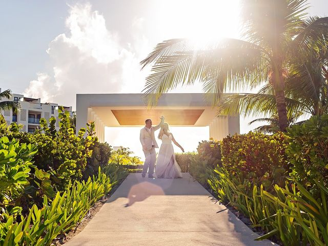 Cory and Meghan's Wedding in Cancun, Mexico 27