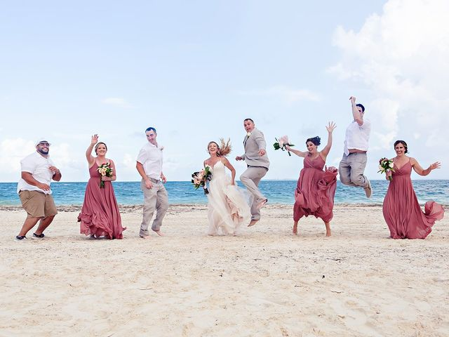 Cory and Meghan's Wedding in Cancun, Mexico 33