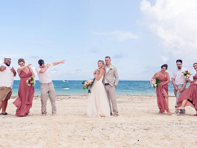 Cory and Meghan's Wedding in Cancun, Mexico 34