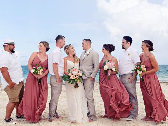 Cory and Meghan's Wedding in Cancun, Mexico 35