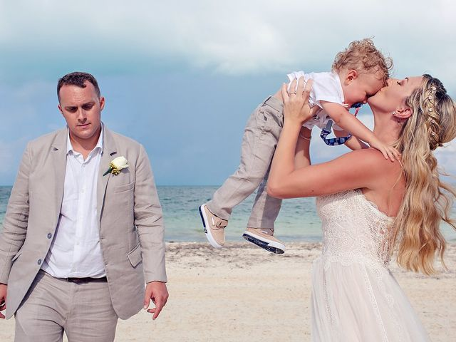 Cory and Meghan's Wedding in Cancun, Mexico 36