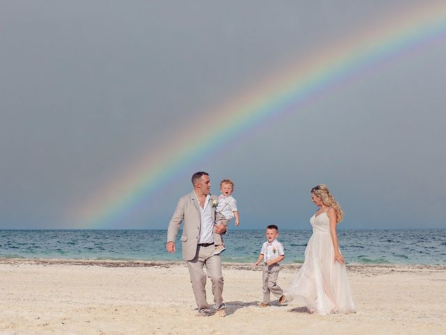 Cory and Meghan's Wedding in Cancun, Mexico 37